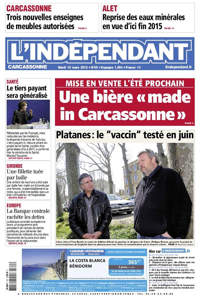 couv Independant 10 mars 2015